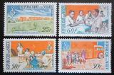 Poštovní známky Niger 1964 Péče o zdraví Mi# 72-75