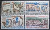 Poštovní známky Niger 1965 Lidová osvěta Mi# 95-98
