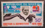 Poštovní známka Niger 1966 Albert Schweitzer Mi# 115