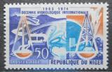 Poštovní známka Niger 1966 Mezinárodní hydrologická dekáda Mi# 116