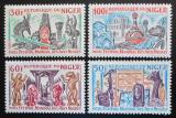 Poštovní známky Niger 1966 Světové hry afrického umění Mi# 120-23