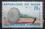 Poštovní známka Niger 1966 Parašutista Mi# 132