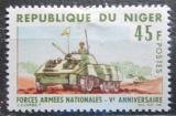 Poštovní známka Niger 1966 Tank Mi# 134