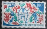 Poštovní známka Niger 1969 Mezinárodní veletrh hraček v Norimberku Mi# 227