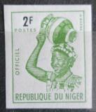 Poštovní známka Niger 1962 Domorodkyně, služební neperf. Mi# 2 B