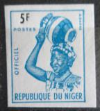 Poštovní známka Niger 1962 Domorodkyně, služební neperf. Mi# 3 B