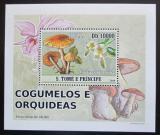 Poštovní známka Svatý Tomáš 2008 Houby DELUXE Mi# 3408 Block