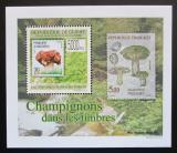 Poštovní známka Guinea 2009 Houby na známkách DELUXE Mi# 7027 Block