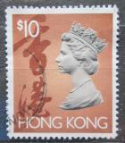 Poštovní známka Hongkong 1992 Královna Alžběta II. Mi# 667 Ix