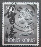Poštovní známka Hongkong 1992 Královna Alžběta II. Mi# 669 Ix