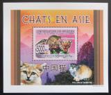Poštovní známka Guinea 2008 Kočky DELUXE Mi# 6089 Block