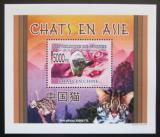 Poštovní známka Guinea 2008 Kočky DELUXE Mi# 6091 Block