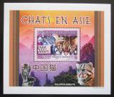 Poštovní známka Guinea 2008 Kočky DELUXE Mi# 6092 Block