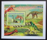 Poštovní známka Guinea 2009 Dinosauři DELUXE Mi# 6392 Block