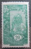 Poštovní známka Francouzské Somálsko 1926 Somálská dívka Mi# 92
