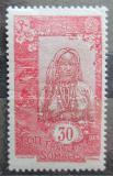 Poštovní známka Francouzské Somálsko 1922 Somálská dívka Mi# 97