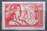Poštovní známka Francouzské Somálsko 1937 Světová výstava v Paříži Mi# 146