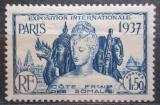 Poštovní známka Francouzské Somálsko 1937 Světová výstava v Paříži Mi# 147