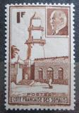 Poštovní známka Francouzské Somálsko 1941 Mešita v Džibuti Mi# 193