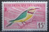 Poštovní známka Francouzské Somálsko 1960 Melittophagus pusillus Mi# 326