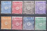 Poštovní známky Francouzské Somálsko 1915 Doplatní TOP SET Mi# 1-8 Kat 21€