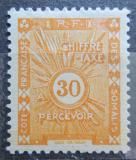 Poštovní známka Francouzské Somálsko 1938 Doplatní Mi# 15