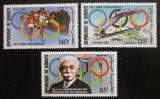 Poštovní známky Džibutsko 1987 Olympijské hry Mi# 495-97 Kat 7.50€