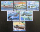 Poštovní známky Džibutsko 2015 Válečné lodě Mi# N/N