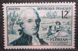 Poštovní známka Francie 1956 Jean-Pierre Claris de Florian Mi# 1046
