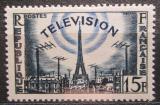 Poštovní známka Francie 1956 Televize Mi# 1047