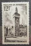 Poštovní známka Francie 1955 Zvonice v Moulins Mi# 1050