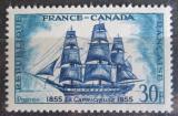 Poštovní známka Francie 1955 Plachetnice Mi# 1061 Kat 5€