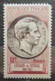 Poštovní známka Francie 1955 Gérard de Nerval, básník Mi# 1071
