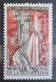Poštovní známka Francie 1956 Koncentrační tábor Natzwiller-Struthof Mi# 1078