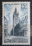 Poštovní známka Francie 1956 Zvonice v Douai Mi# 1079