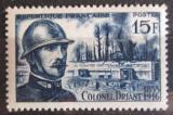 Poštovní známka Francie 1956 Émile Driant, politik Mi# 1080