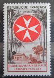 Poštovní známka Francie 1956 Maltézský řád Mi# 1090