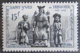 Poštovní známka Francie 1956 Sochy Mi# 1091