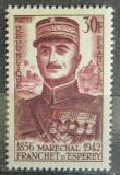 Poštovní známka Francie 1956 Maršál Franchet d Esperey Mi# 1092