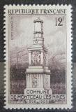 Poštovní známka Francie 1956 Památník horníkům Mi# 1093