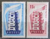 Poštovní známky Francie 1956 Evropa CEPT Mi# 1104-05 Kat 10€