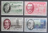 Poštovní známky Francie 1957 Francouzští vědci Mi# 1124-27