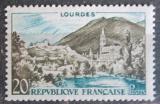 Poštovní známka Francie 1958 Lurdy Mi# 1186