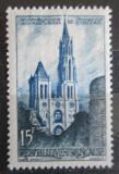 Poštovní známka Francie 1958 Katedrála v Senlis Mi# 1201