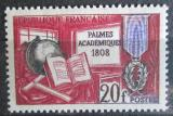 Poštovní známka Francie 1959 Akademický řád, 150. výročí Mi# 1229