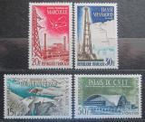 Poštovní známky Francie 1959 Architektura Mi# 1247-50