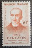 Poštovní známka Francie 1959 Henri Bergson, filozof Mi# 1267