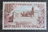 Poštovní známka Francie 1959 Zámek Perpignan Mi# 1269