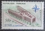 Poštovní známka Francie 1959 Budova NATO v Paříži Mi# 1272