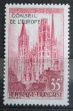 Poštovní známka Francie 1958 Vydání pro Radu Evropy Mi# 1
